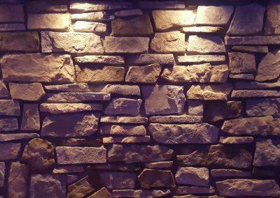 Mur de pierre Québec