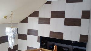 Installation de mur décoratif