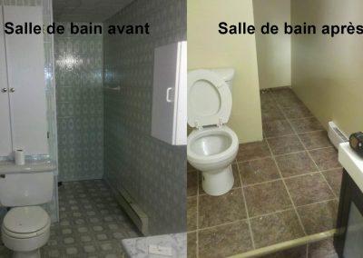 Rénovation de salle de bain Québec