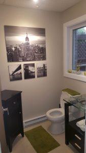 Rénovation de salle d'eau Québec