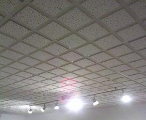Installation de plafond suspendu Québec
